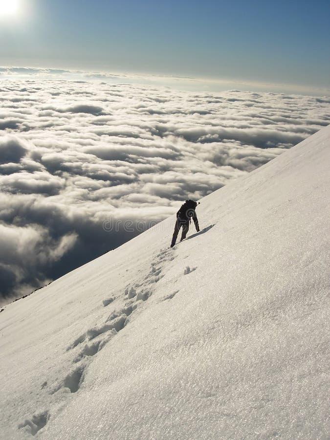 tatras альпиниста высокие стоковое фото