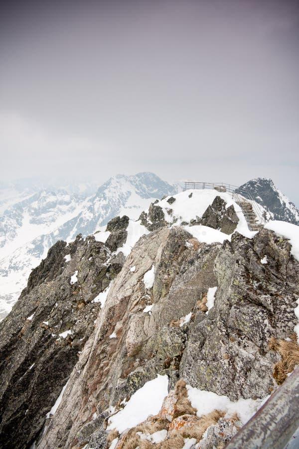 Tatras alto imagens de stock