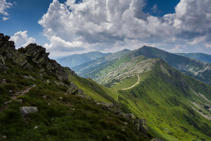Tatras basso fotografie stock