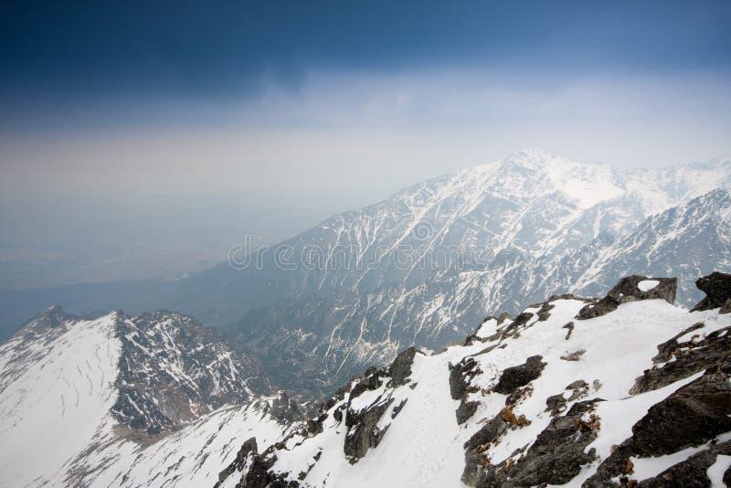 Tatras elevado fotografia de stock royalty free