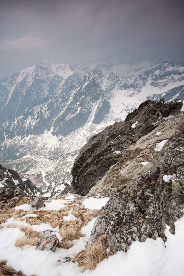 Tatras elevado foto de stock royalty free