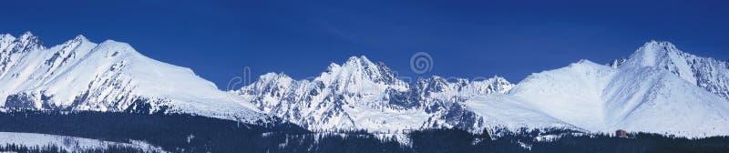 Tatras elevado fotografia de stock