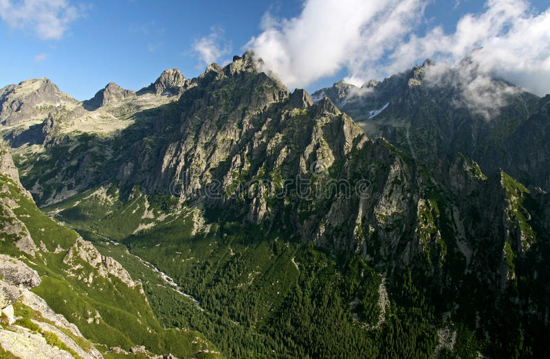 Tatras elevado IV imagens de stock royalty free