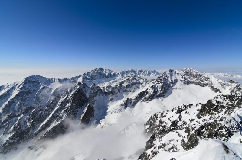Tatras elevados fotografia de stock royalty free
