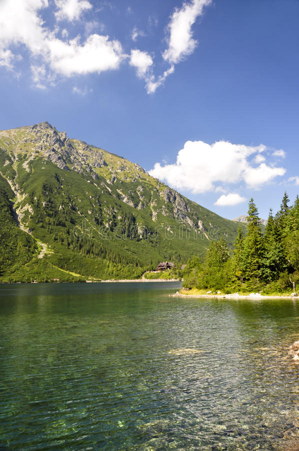Tatras Gebirgslandschaft. stockfotos