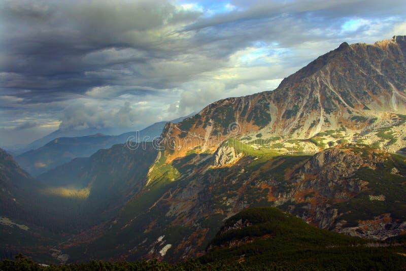Tatras Mountains landscape. royalty free stock photos