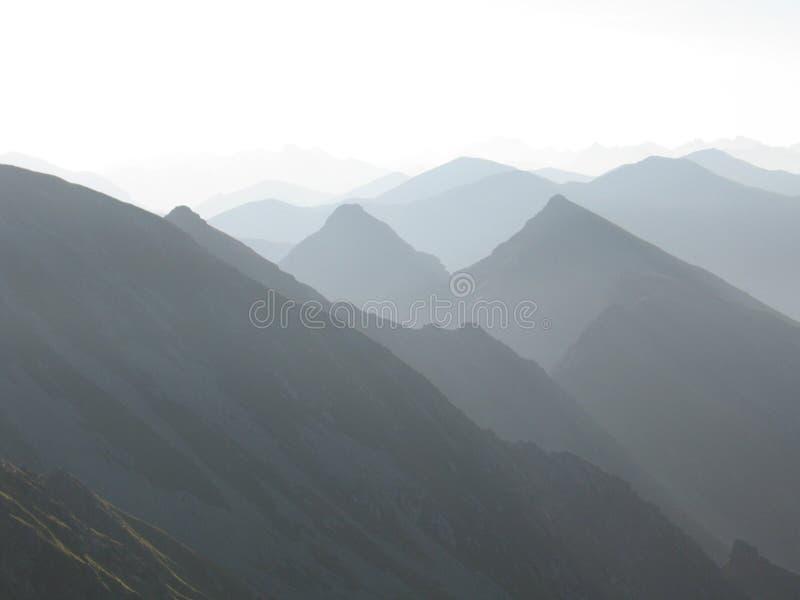 Tatras ocidental fotografia de stock