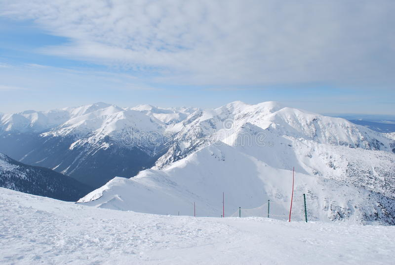 Download Tatry foto de stock. Imagem de esqui, elevador, d0, neve - 12813922