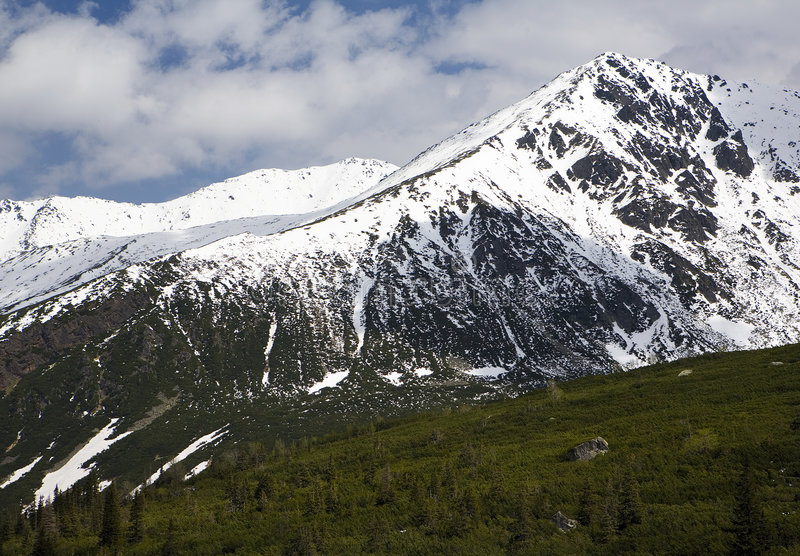 Tatry. Mountains. Picture taken in Tatry mountains in Poland royalty free stock image