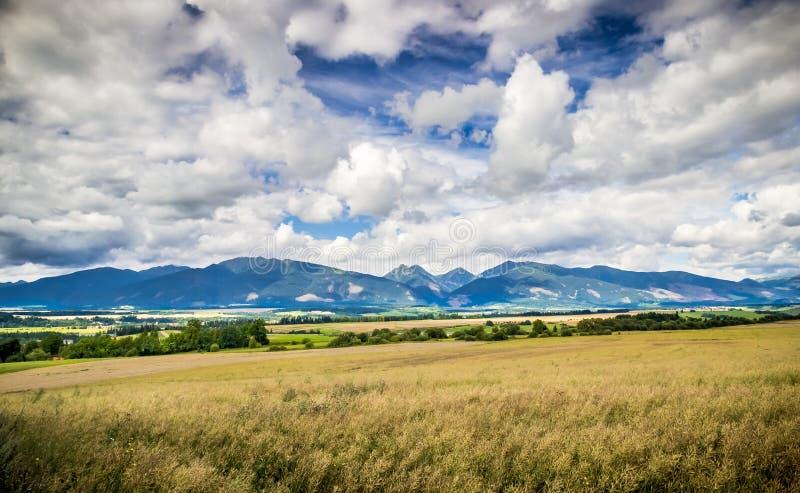 Tatry en Eslovaquia imagenes de archivo