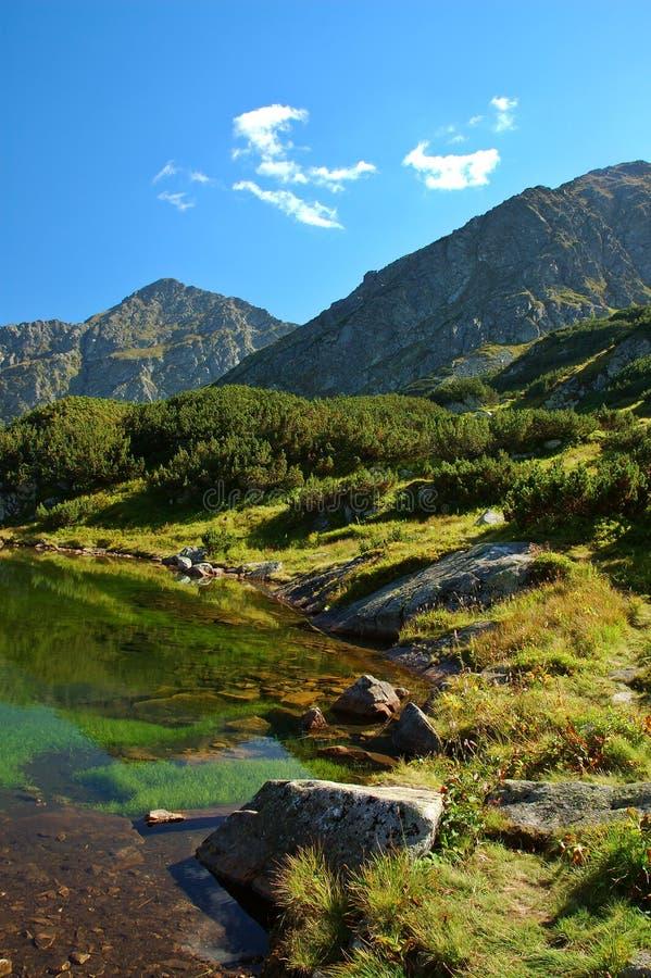 Tatry - lago de la montaña imágenes de archivo libres de regalías