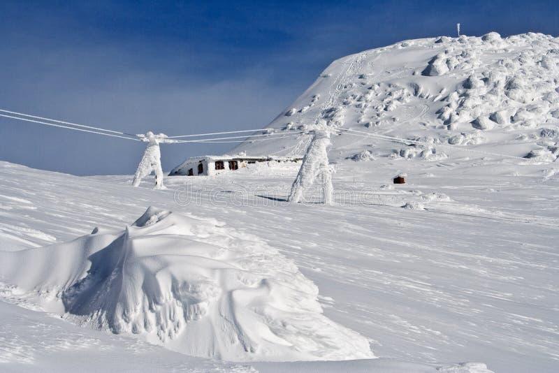 The Tatry mountains. Slovakia, Europe royalty free stock photo