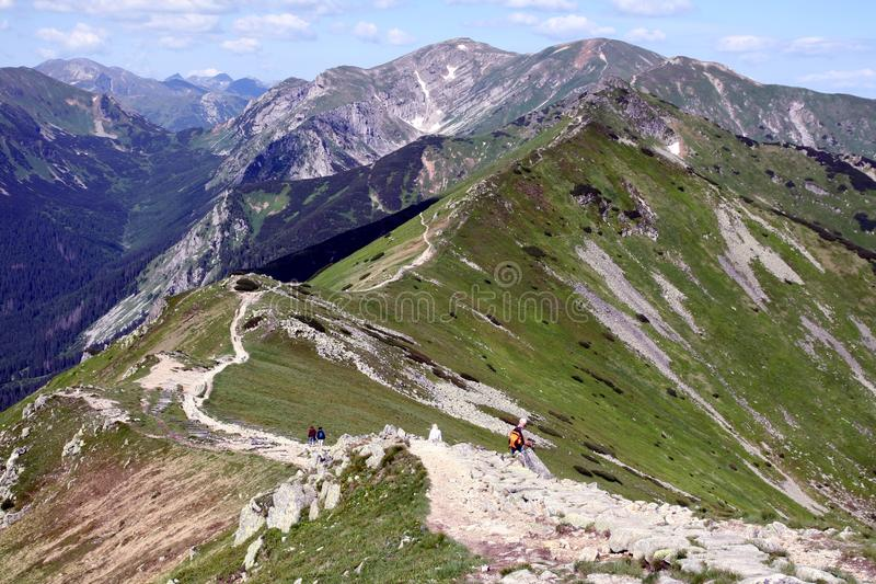 Tatry mountains. In the south of Poland stock photos