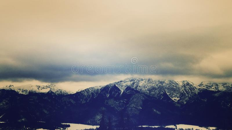 Tatry; Polish mountains stock photo