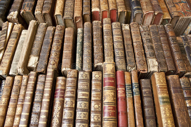 Tattered Books royalty free stock images