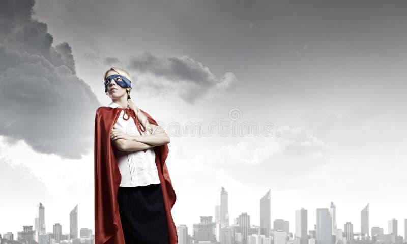Tatto voi stessi un eroe! fotografia stock