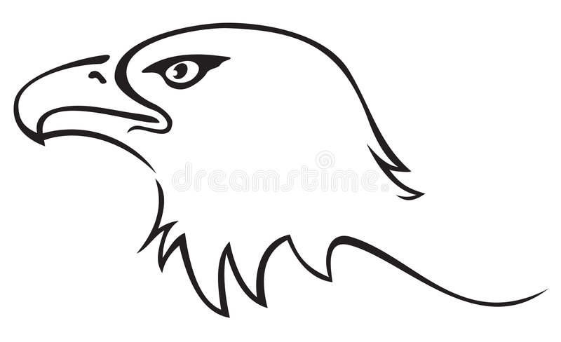 tattoo орла иллюстрация вектора