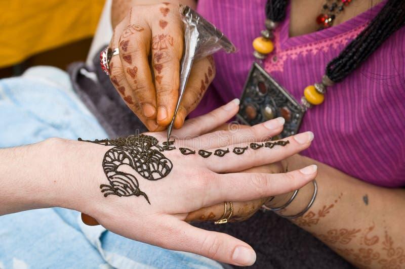 tattoo хны 2 стоковые изображения