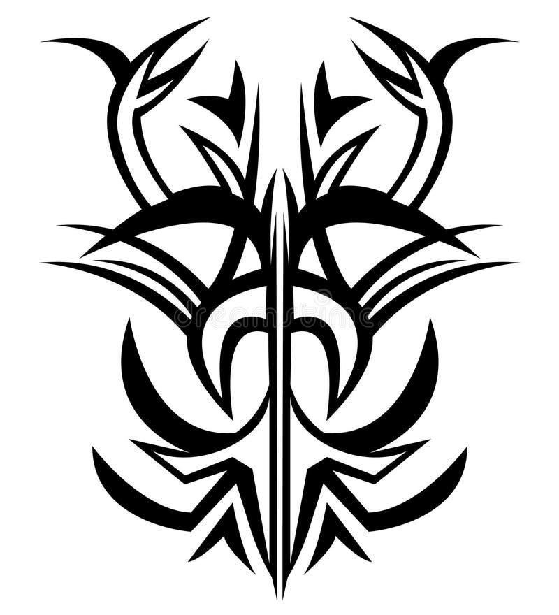 Download Tattoo stock illustration. Illustration of creative, shapes - 15042996