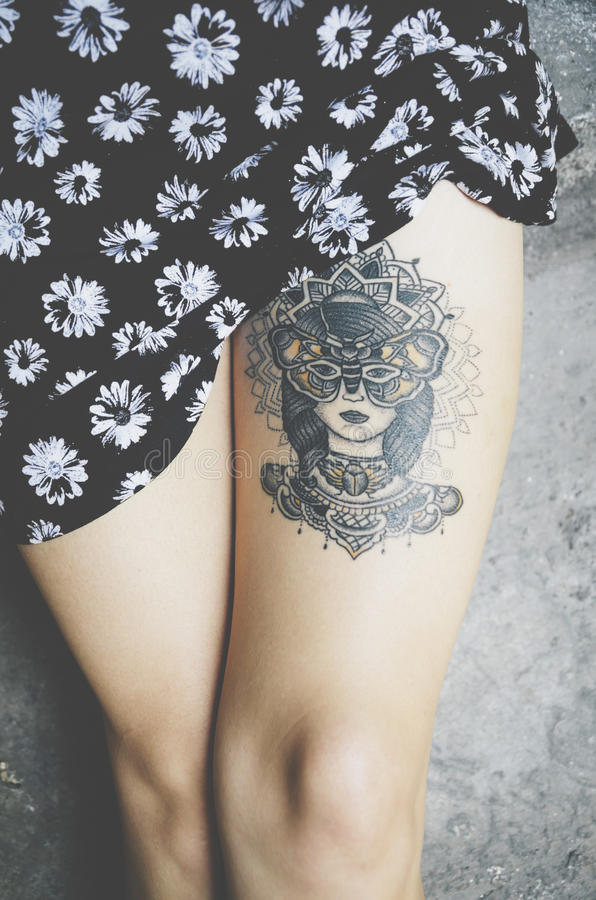 tattoo fotografia de stock