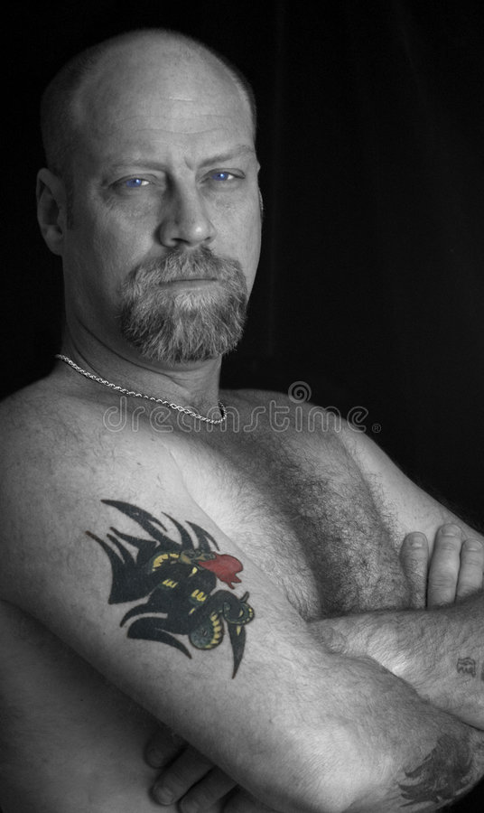 Download The Tattoo stock photo. Image of dragon, tattoo, blue - 8063724
