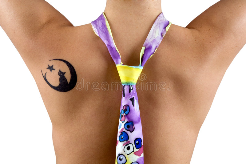 Download Tattoo stock image. Image of neck, black, color, pain - 8725873