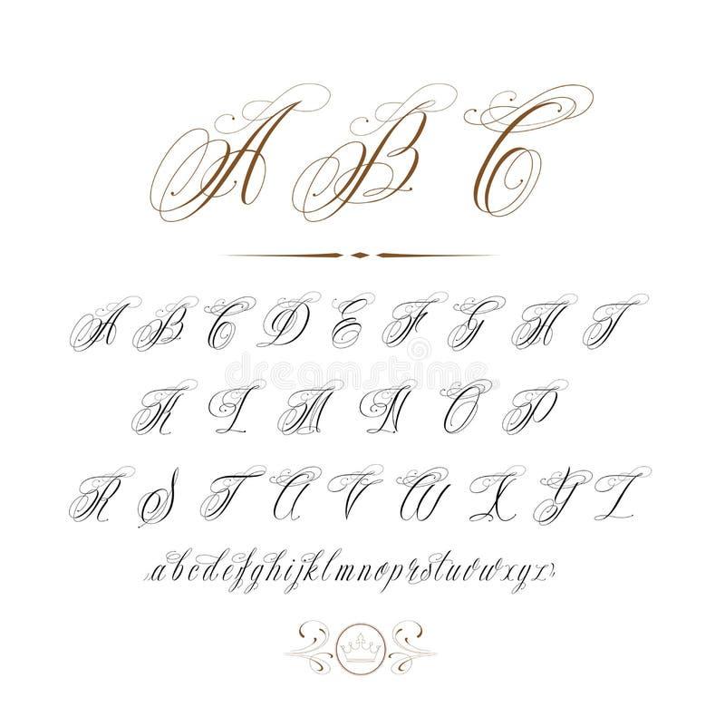 Tattoo ABC royalty free illustration