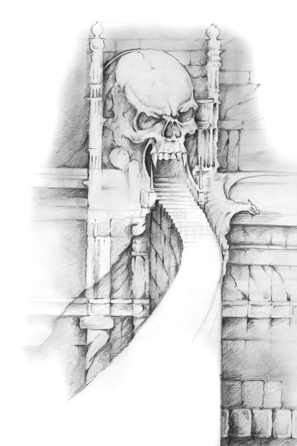 Gates Of Hell Tattoo Designs