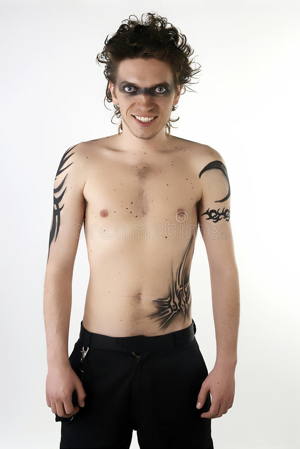 Tattoo Boy royalty free stock images