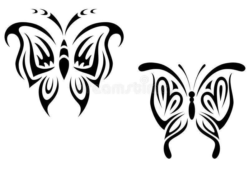 Download Tattoo butterfly stock vector. Image of isolated, butterfly - 10359102