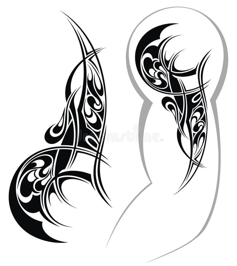 tattoo designed for a shoulder stock vector illustration of shoulder fashion 38859589. Black Bedroom Furniture Sets. Home Design Ideas