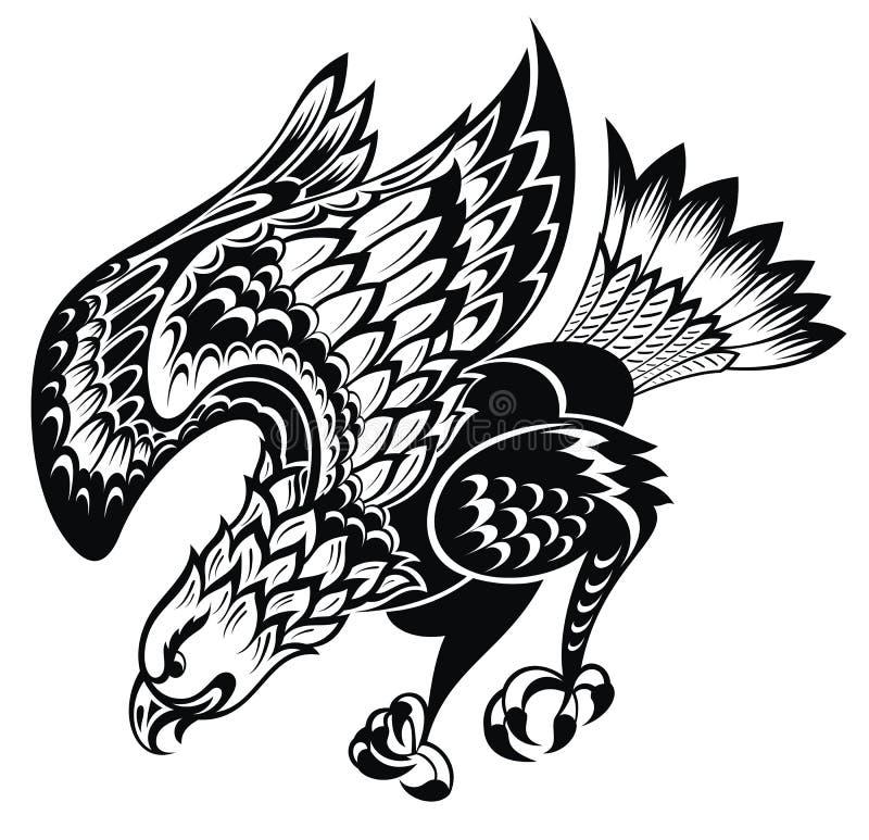 Free Tattoo Eagle Stock Photo - 41643780