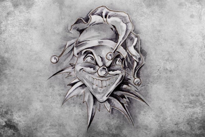Joker gezeichnet