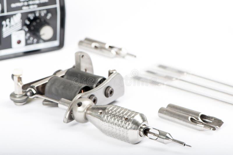 Download Tattoo machine (gun) stock photo. Image of chromed, needles - 28505190