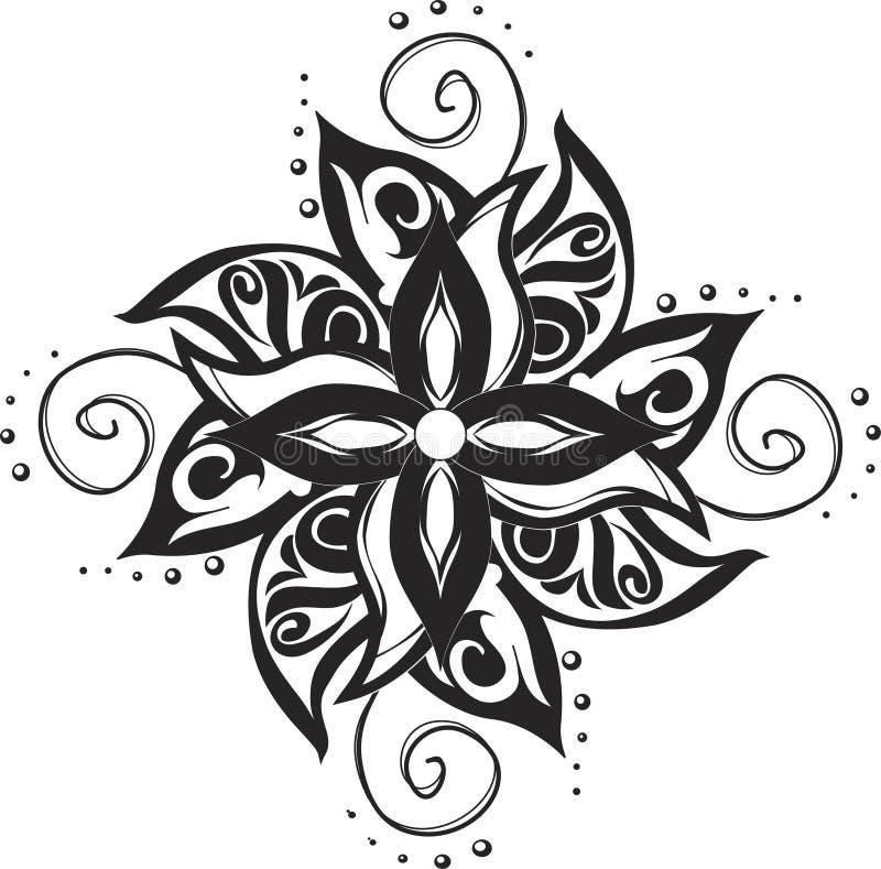 Download Tattoo ornamental pattern stock vector. Image of tatoo - 22518244