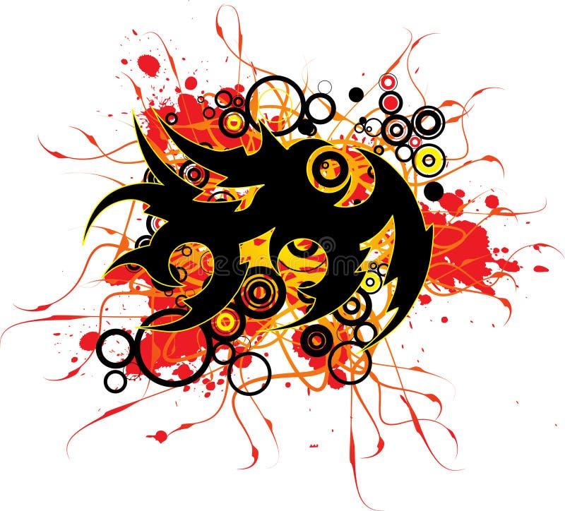 Free Tattoo Splatter Royalty Free Stock Photo - 5213565