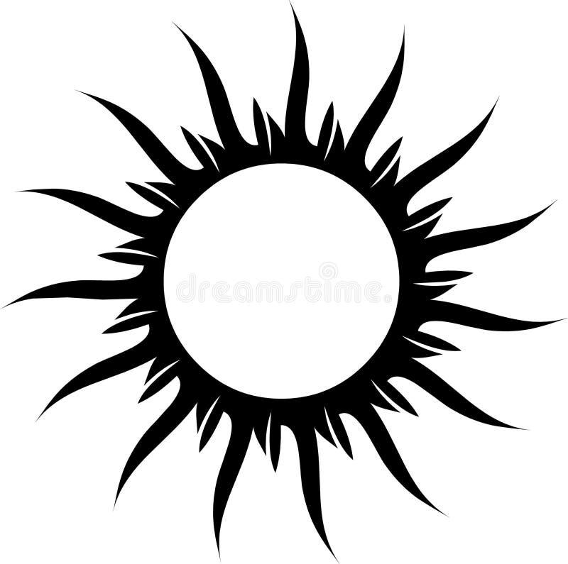 Free Tattoo Sun Stock Image - 7415461