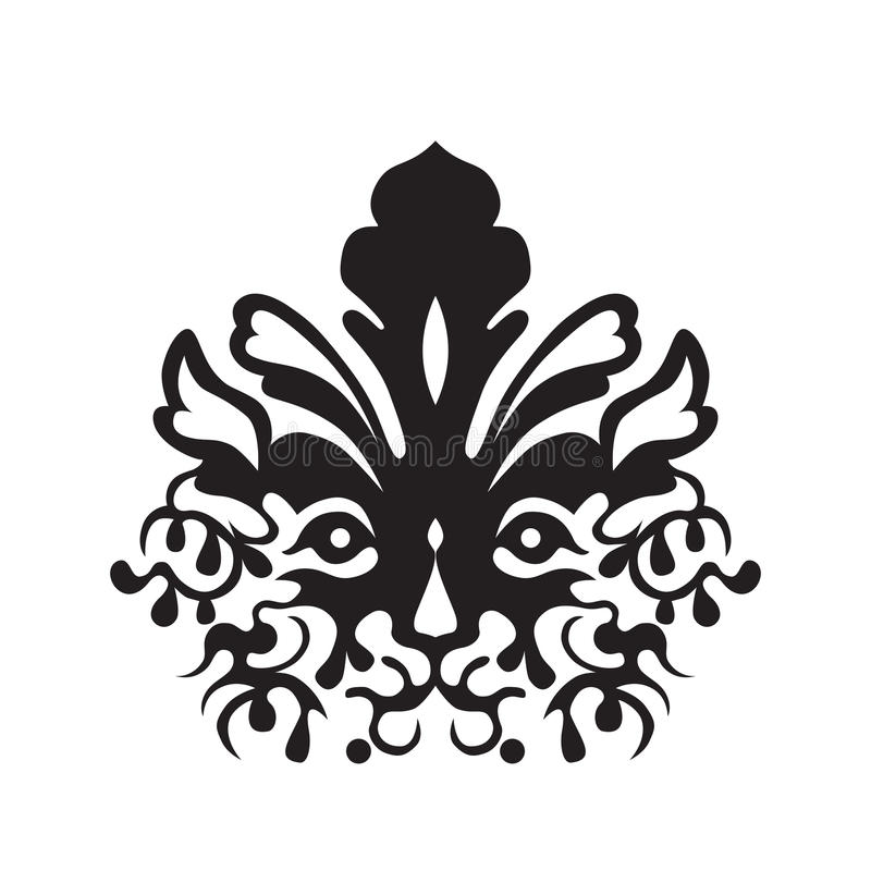 Download Tattoo Of A Tiger's Head Royalty Free Stock Photos - Image: 17641378