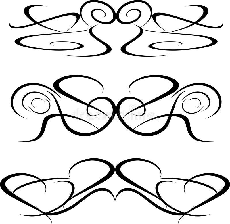 Free Tattoo Tribal Art Design Elements Artworks Floral Stock Image - 17945831
