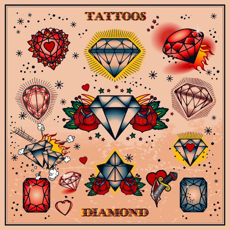 Tattoos stock illustration