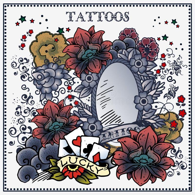 Tattoos vector illustration