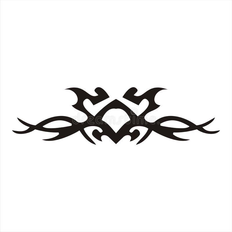 Tatuagem do carro ilustração royalty free