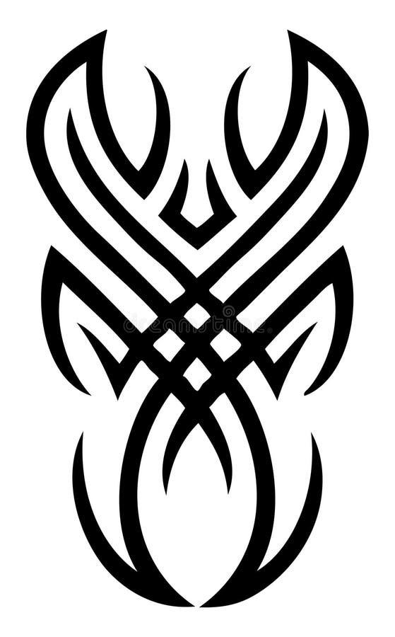Tatuagem - Editable ilustração do vetor