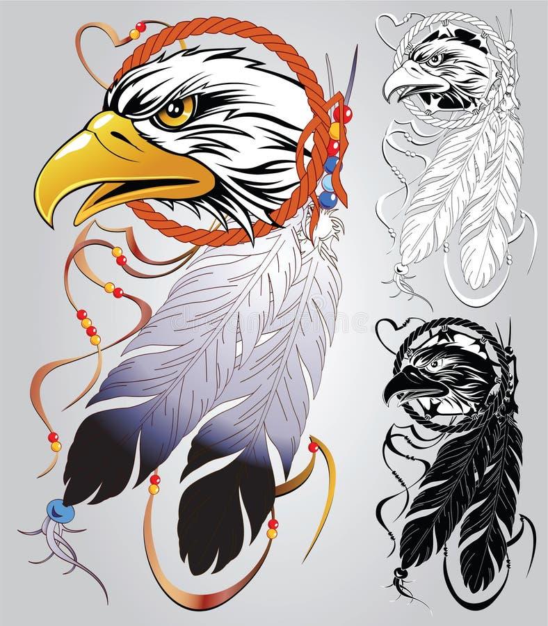 Tatuagem indiano ilustração royalty free