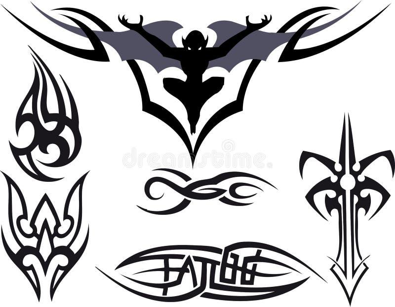 Tatuagem tribal ilustração royalty free