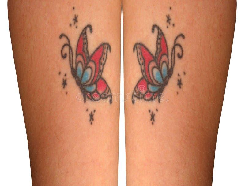 Tatuagens de Butterrfly fotos de stock royalty free
