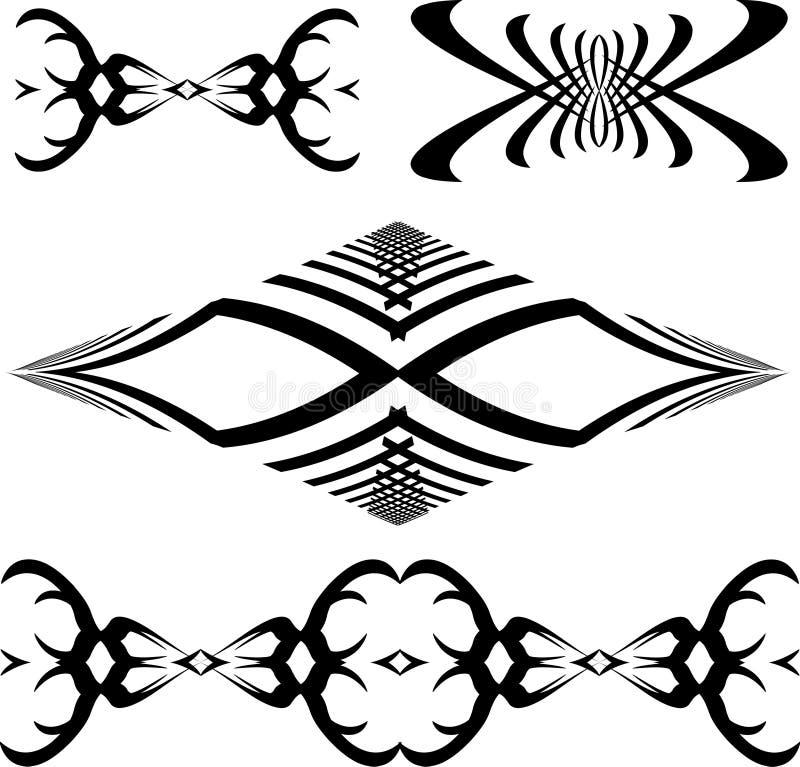 Download Tatuaggi illustrazione vettoriale. Illustrazione di disegno - 208846