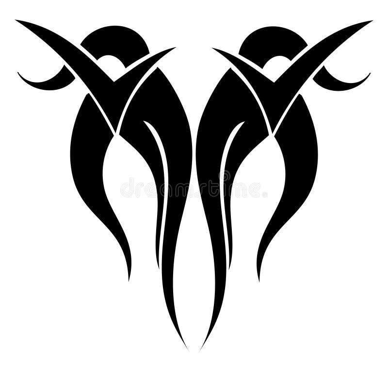 Tatuaggio illustrazione di stock