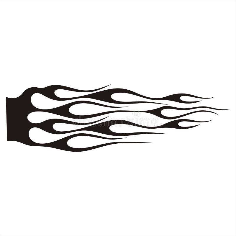 Tatuaggio dell'automobile immagini stock
