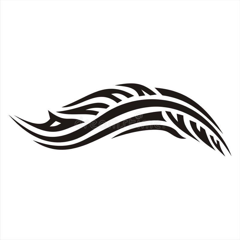 Tatuaggio dell'automobile fotografia stock
